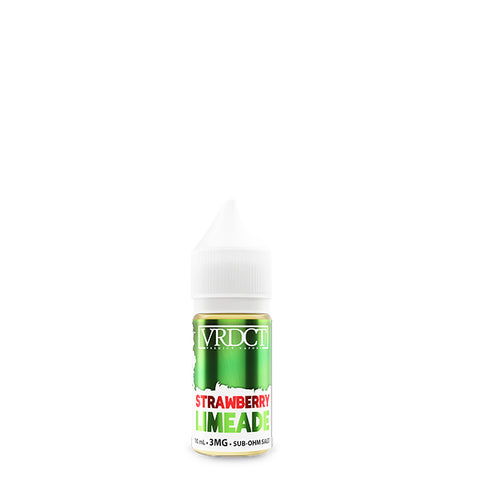 Verdict Vapors - Strawberry Limeade - 10mL / 3mg
