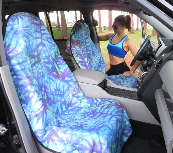 Electric Palm Seat Hoody pattern car seat cover universal fit