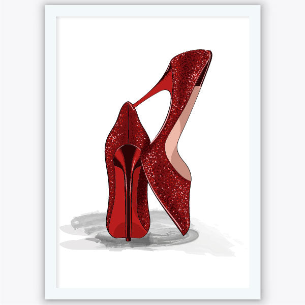 Quadro Red Shoes