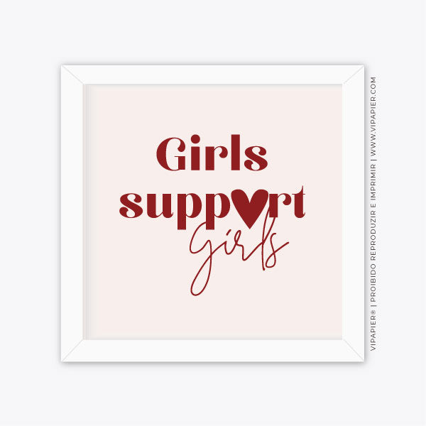 Quadro Girls Support Girls