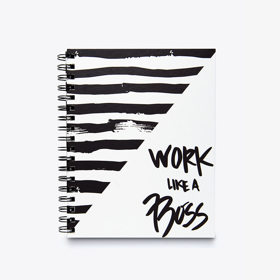 Caderno Work Like a Boss