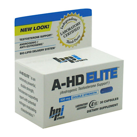 BPI A-HD Elite 30 ct - Nutrition Pit Supplement Store