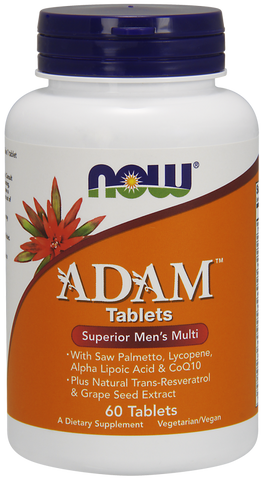 NOW ADAM Men's Multi-Vitamin 120 ct