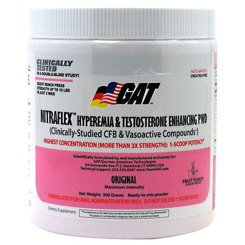 GAT Nitraflex 300g - Nutrition Pit Supplement Store