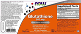 NOW Glutathione 500 mg 60 ct