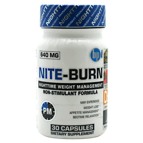 BPI Nite-Burn 30 ct - Nutrition Pit Supplement Store