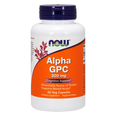 NOW Alpha GPC 300mg