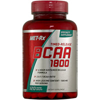 Amino Acids - Met-Rx Timed-Release BCAA 1800 120ct