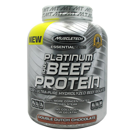 MuscleTech Essential Series 100% Platinum Beef Protein 4.2 lb