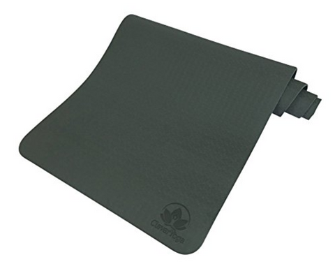 "Clever Yoga Premium Mat BetterGrip 1/4"" thick"