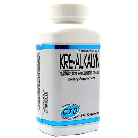 CTD Labs Kre-Alkalyn 240 ct - Nutrition Pit Supplement Store