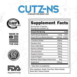 LMNITRIX CUTZ-NS (Stim-Free Fat Burner) 60 ct