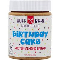 Buff Bake Almond Butter 12 oz - Nutrition Pit Supplement Store