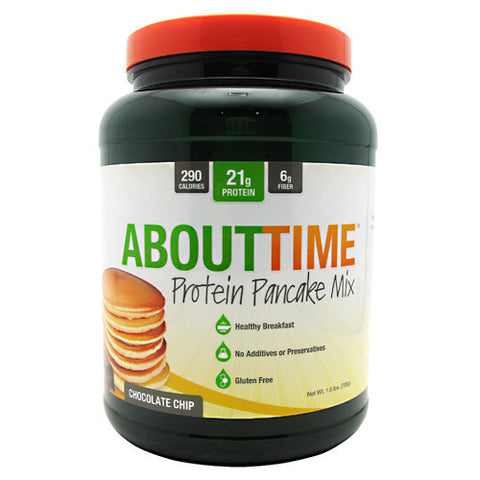 Healthy Snacks - SDC Nutrition About Time Protein Pancake Mix