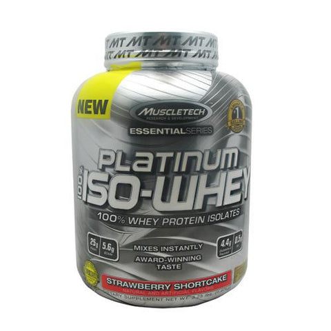 MuscleTech Essential Series 100% Platinum ISO-Whey 3.34 lb