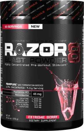 Allmax Nutrition Razor8 30 sv. - Nutrition Pit Supplement Store