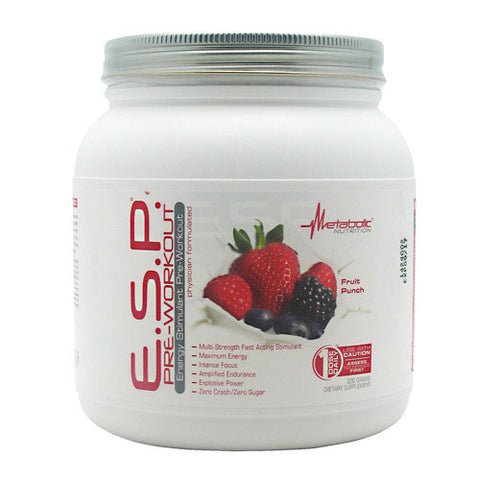 Pre Workout - Metabolic Nutrition E.S.P. Pre-Workout 300g