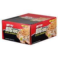 Protein Bars - Met-Rx: Big 100 Colossal Bar 9ct