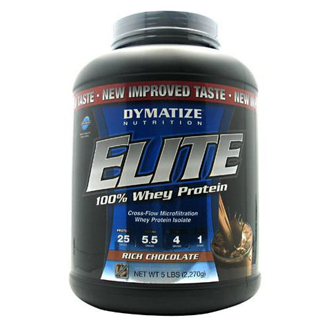 Dymatize Nutrition Elite 100% Whey Protein 5 lb - Nutrition Pit Supplement Store
