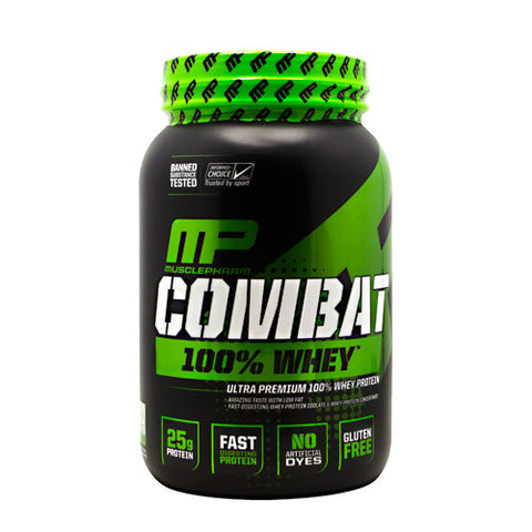 Protein - MusclePharm Combat 100% Whey 2 Lb