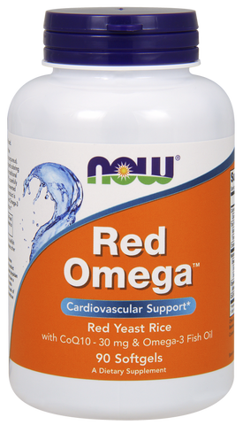 NOW Red Omega fish oil 90 ct
