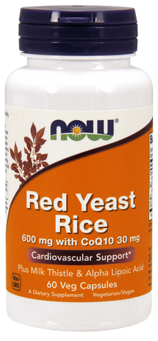 NOW Red yeast rice ext CoQ10 60 ct