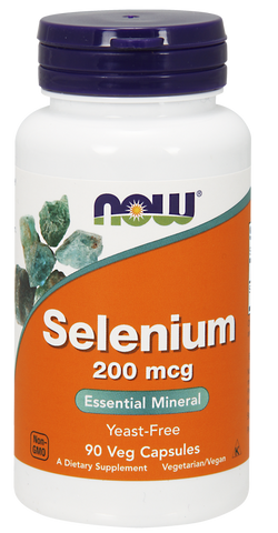 NOW Selenium 200 mcg 90 ct