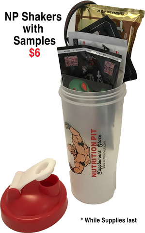 Nutrition Pit Shaker with Samples