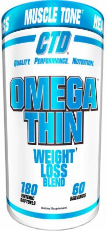 CTD Labs Omegathin 180 ct - Nutrition Pit Supplement Store