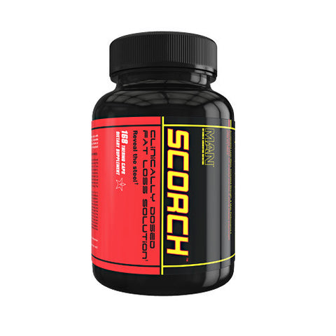 Weight Loss - MAN Sports Scorch 168 Ct