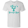 Ace's Gym Girl - Aqua - NL6010 Next Level Men's Triblend T-Shirt
