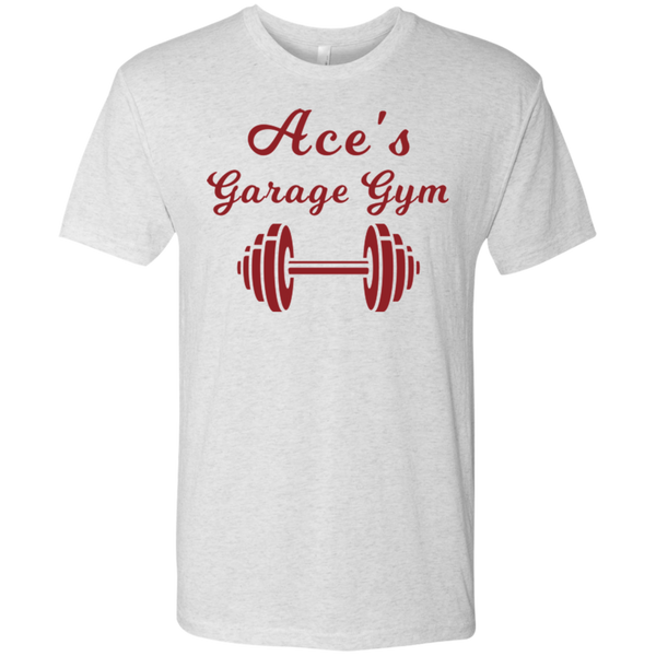 Ace's Gym - Red - NL6010 Next Level Men's Triblend T-Shirt