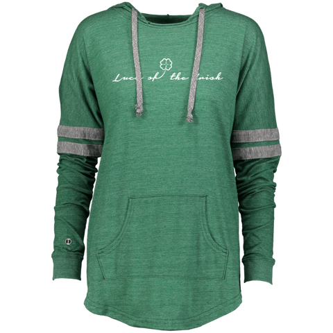 Luck of the Irish - Holloway Ladies Hooded Low Key Pullover