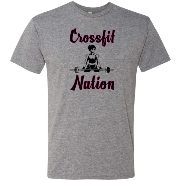 Crossfit Nation - NL6010 Next Level Men's Triblend T-Shirt