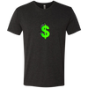 Dollar Sign Green2 - NL6010 Next Level Men's Triblend T-Shirt