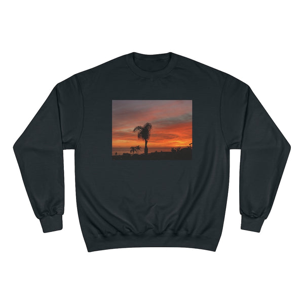 Orange Laguna Sunset Sweatshirt