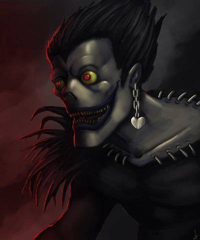 ryuk death note art artist cj marsh