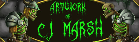 art artist banner cj marsh