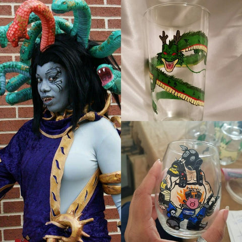 pros and cons cosplay pros art geek nerd glassware