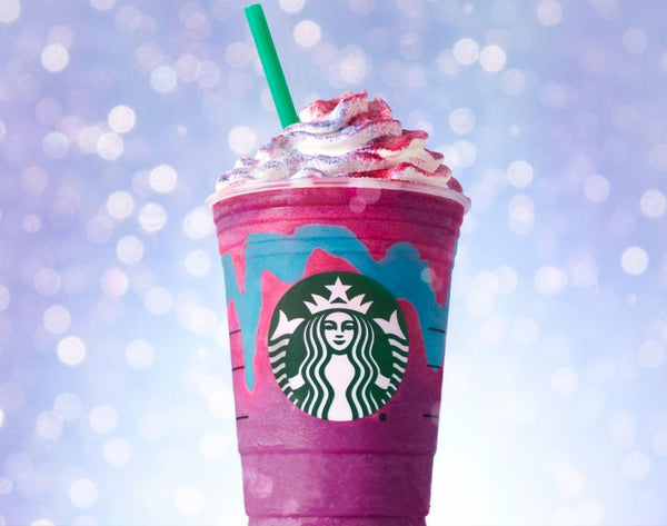 starbucks unicorn frappe