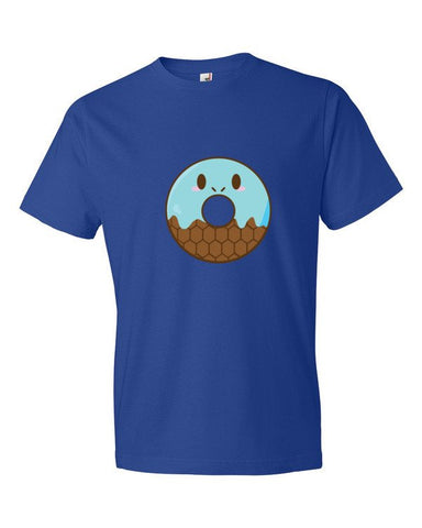 water blue turtle squirtle donut pokemon tshirt