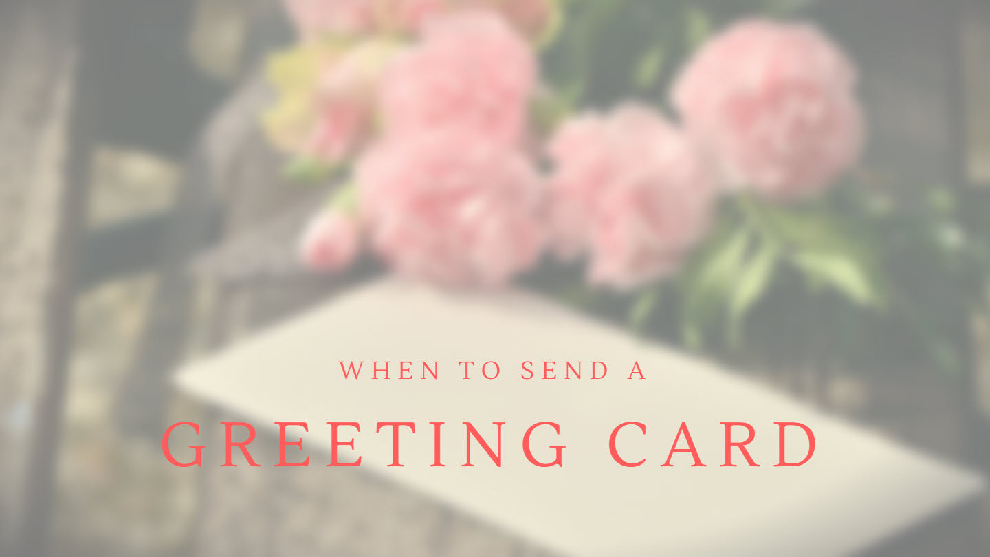 When to send a greeting card papercute after all those instagram and snapchat hours you just need something you can hold isnt it fun getting a paper greeting card kristyandbryce Gallery