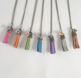 Tassel Origami Necklace