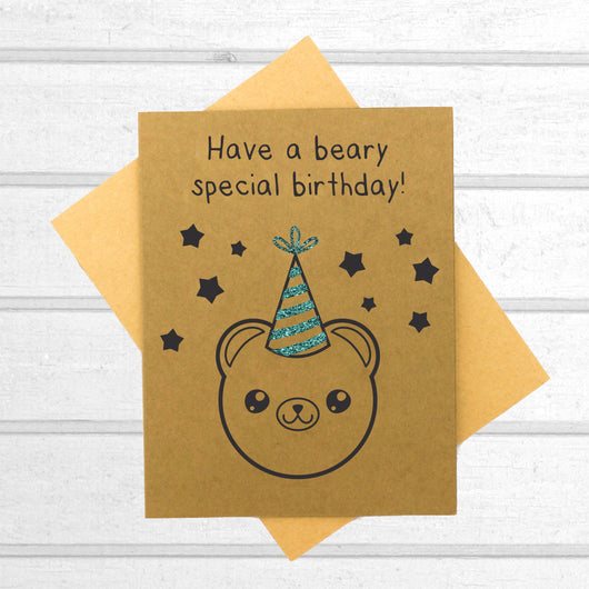 Have a Beary Special Birthday - Birthday Card - Papercute