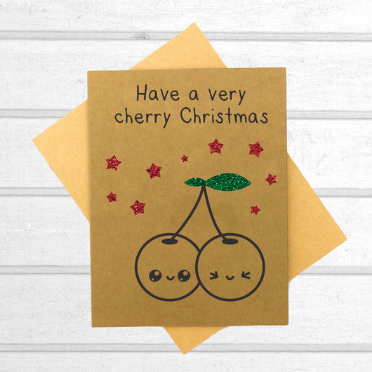 Have A Very Cherry Christmas - Papercute