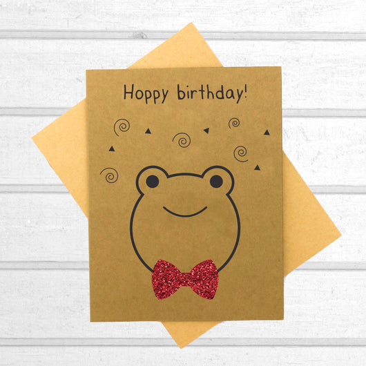 Hoppy Birthday - Birthday Card - Papercute