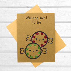 We Are Mint to Be Card - Papercute