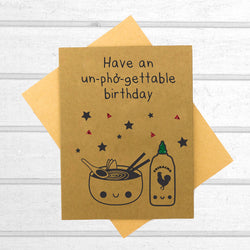 Have an Unphogettable Birthday Card - Papercute