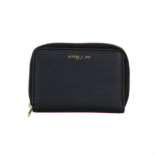 Amandine Small Zip Around Wallet