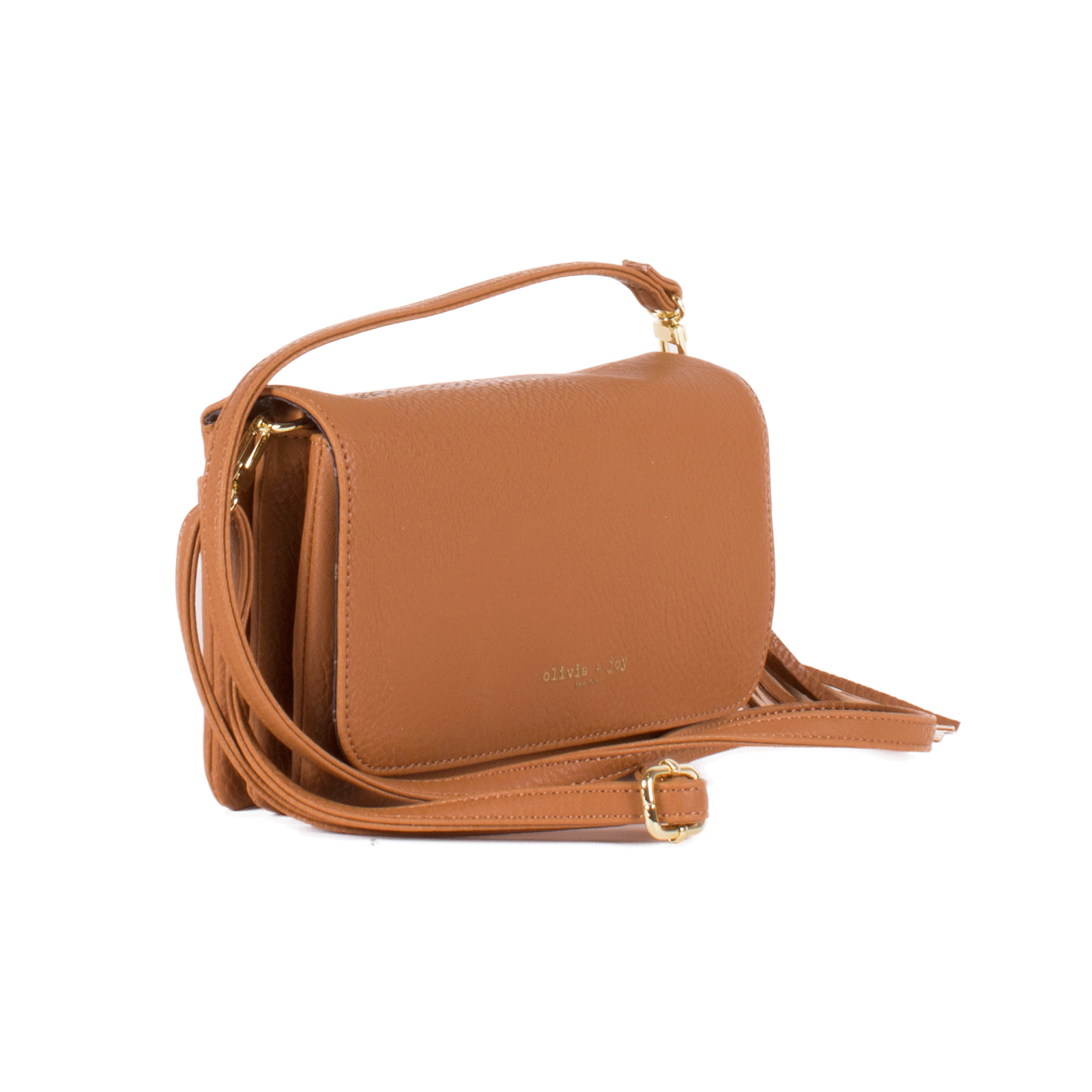 Lilian Flap Crossbody with Pom Pom